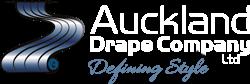 Auckland Drape White logo